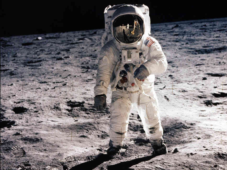 45th Anniversary of a Germanna Descendant on the Moon