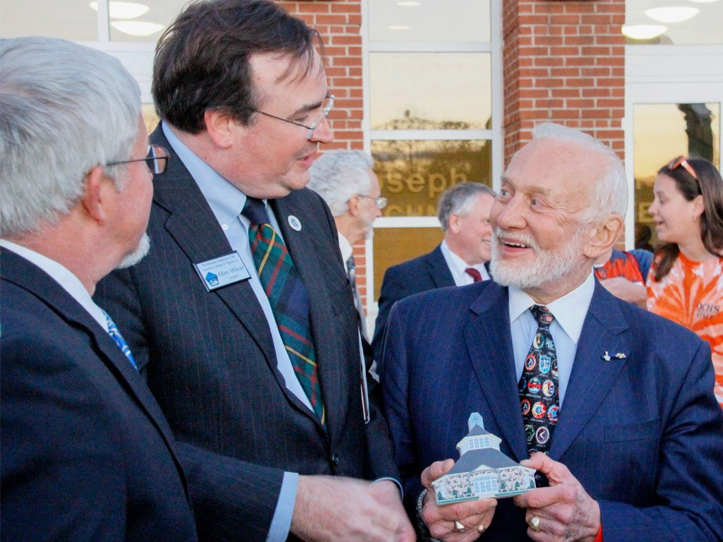 Germanna Welcomes Astronaut Buzz Aldrin 'Home Again'
