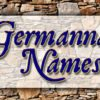 List of Germanna Names