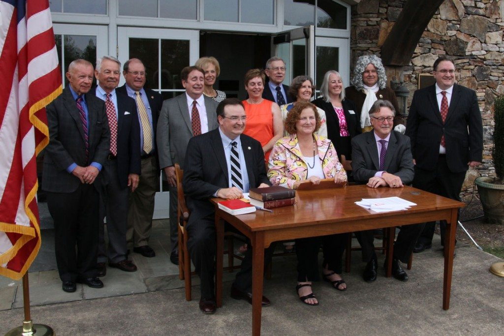 IN THE NEWS: UMW officially transfers land to Germanna Foundation