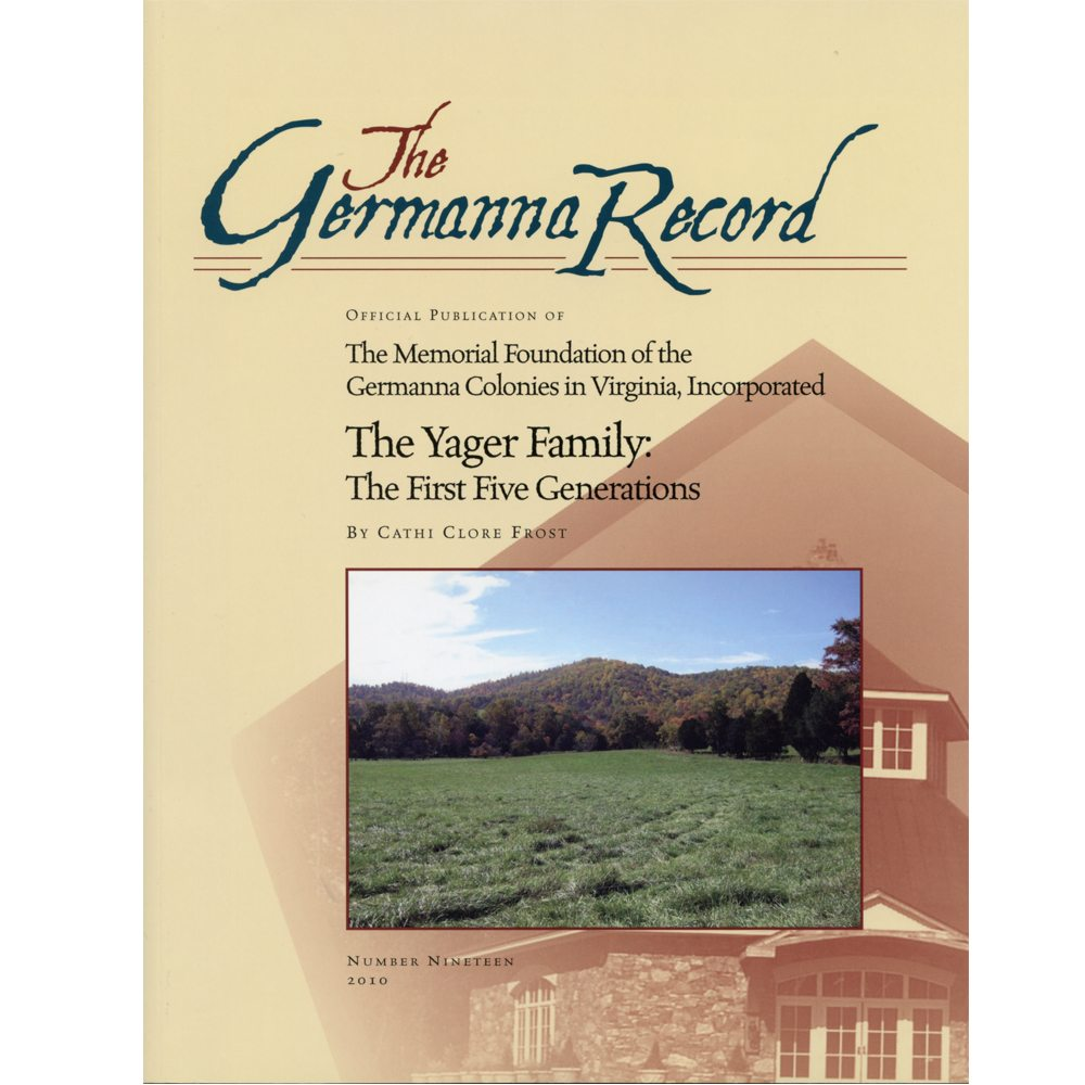 Germanna Records Available on Amazon