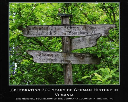 2014 Germanna Foundation Calendar