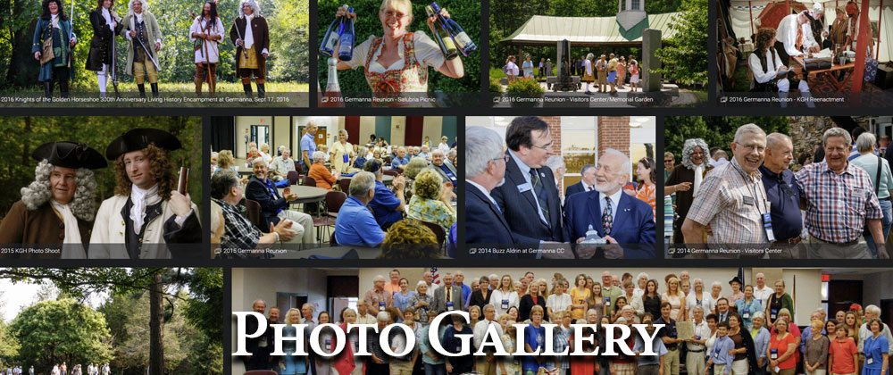 Germanna Foundation Photo Gallery