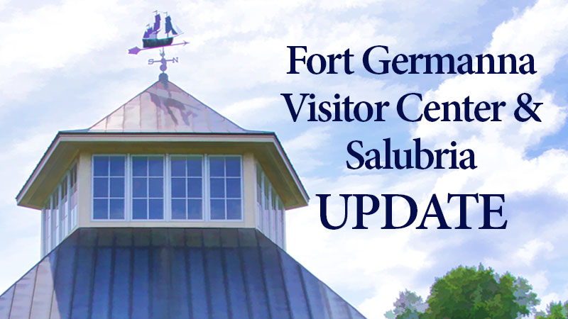 Fort Germanna Visitor Center Update