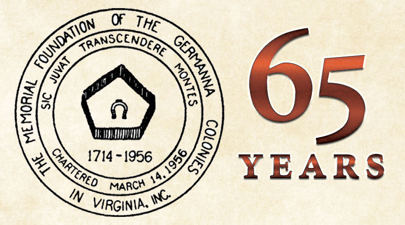 Germanna Foundation's 65th Anniversary