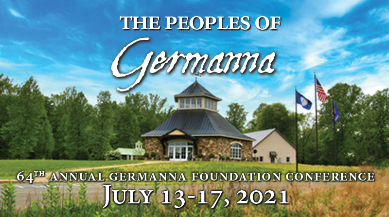 Registration Now Open for Germanna's Annual Conference in July