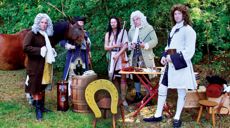 """WATCH: Evening With Germanna: Spotswood's """"Knights of the Golden Horseshoe"""" Expedition in 1716"""